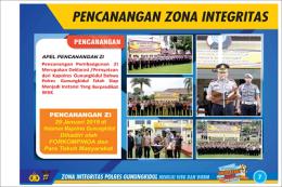Zona Integritas Polres Gunungkidul 2