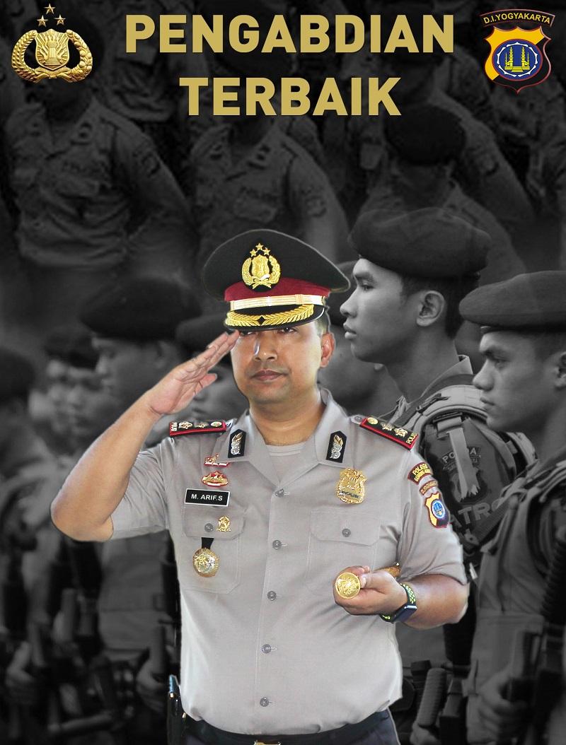 AKBP Muhammad Arif Sugiarto S.I.K M.PP