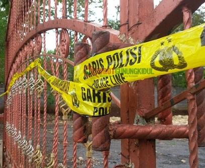 Garis Polisi Di Pakelrejo Hanya Untuk Keperluan Olah TKP