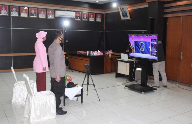 UPACARA CEREMONY/RESEPSI HKGB KE-68 TAHUN 2020 SECARA VIRTUAL DAN SERENTAK DI SELURUH INDONESIA