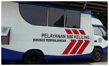 SIM Keliling Bulan April 2017