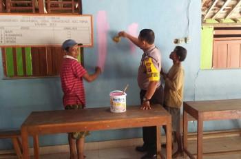 SAMBANG SAMBIL BERAMAL BHABINKAMTIBMAS DESA PURWODADI