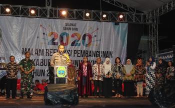 SITUASI MALAM PERGANTIAN TAHUN 2020 BERLANGSUNG AMAN