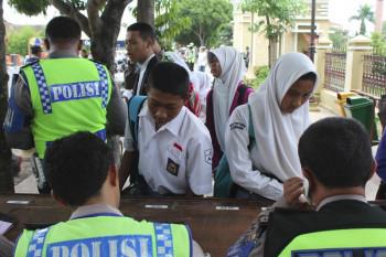 Tekan Angka Kecelakaan Akibat Remaja, Polres Adakan Razia Khusus Pelajar