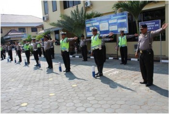 Demi Profesionalisme, Polisi Dilatih Terus