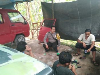 BHABINKAMTIBMAS SAMBANG BENGKEL,ANTISIPASI CURANMOR
