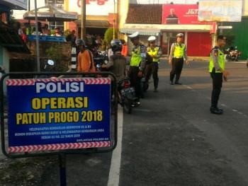 OPERASI PATUH PROGO 2018 PENINDAKAN TILANG MENINGKAT