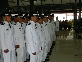 Sejumlah 56 Kepala Desa Resmi Dilantik